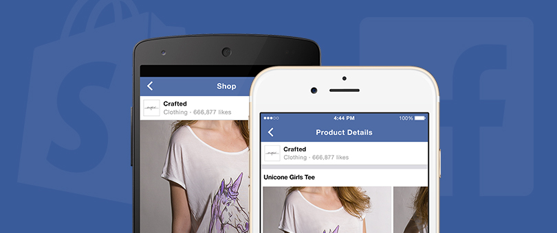 Facebook Shop Sectio