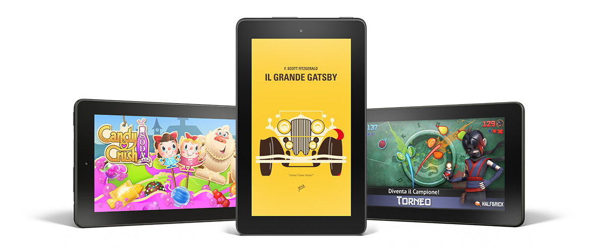 nuovo Kindle Fire