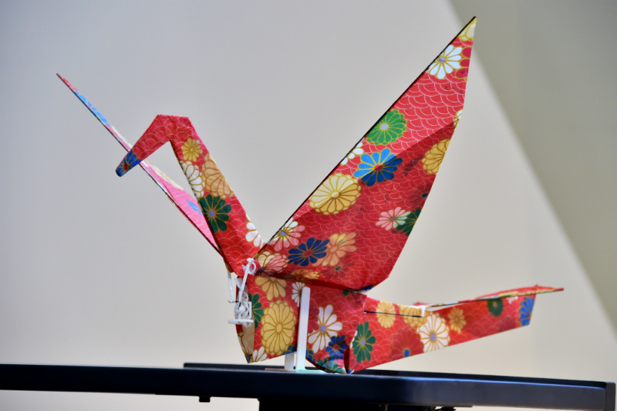 Drone origami