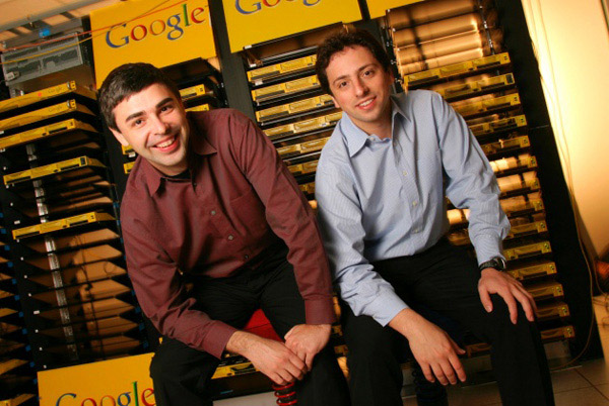 Larry Page e Sergey Brin Google