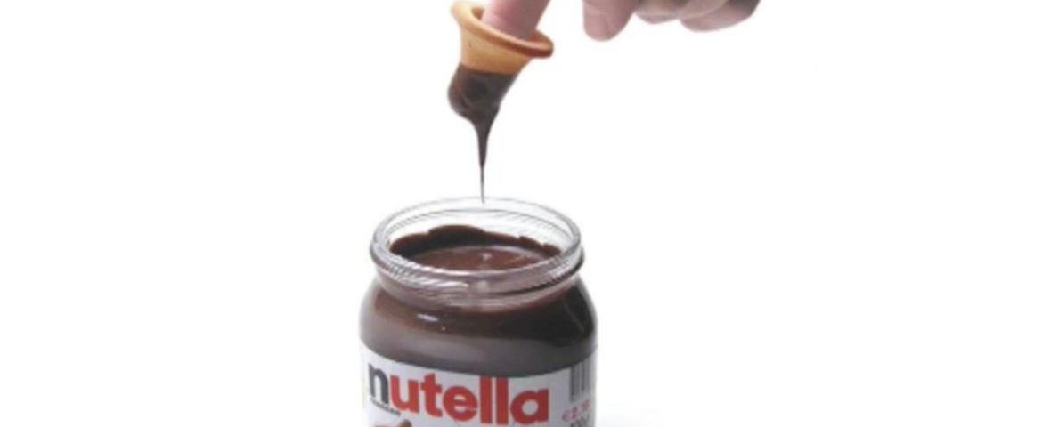 Il biscotto da dito per gustarsi la Nutella - VIDEO