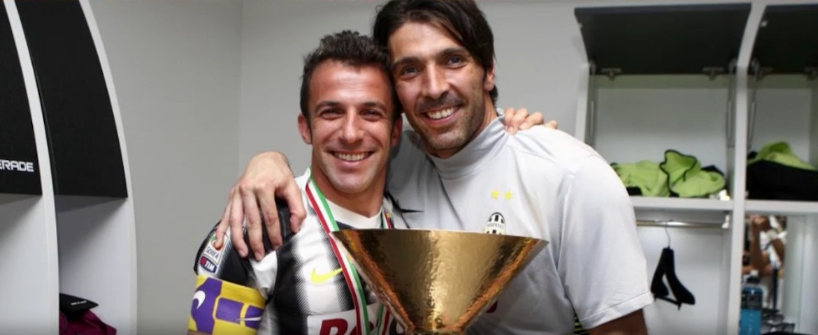 Scontro tra capitani. Cos'ha detto Del Piero a Buffon? - VIDEO