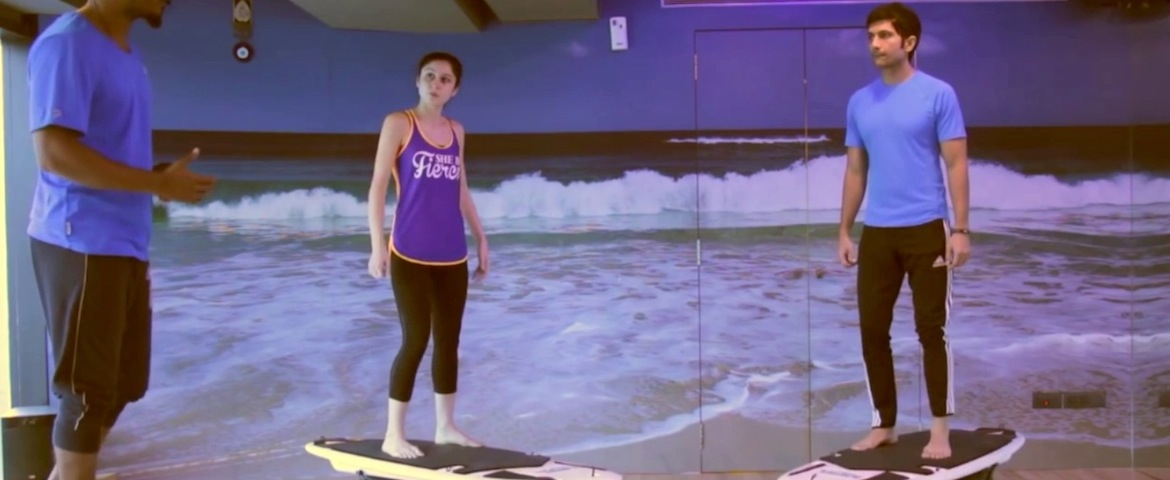 Il surf si fa in palestra - VIDEO
