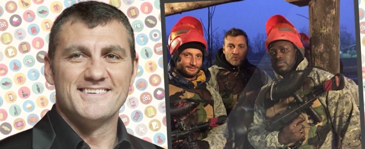 Bobo Vieri va in guerra - VIDEO