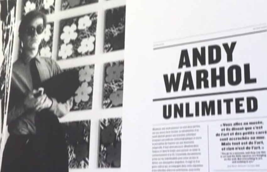 """Warhol Unlimited"", a Parigi la mostra al Museée d'Art Moderne - VIDEO"