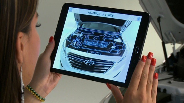 Hyundai Augmented Reality Guide
