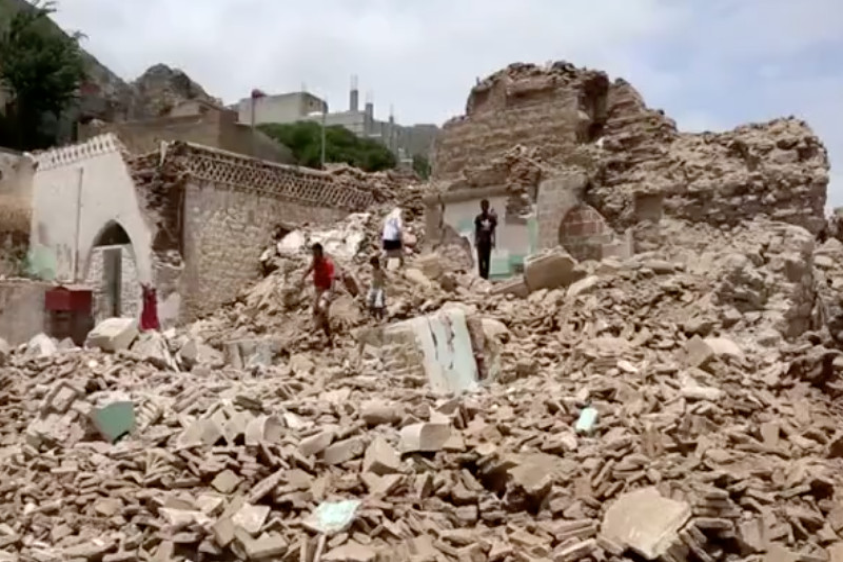 Yemen, moschea sufi del XVI secolo abbattuta da terroristi salafiti