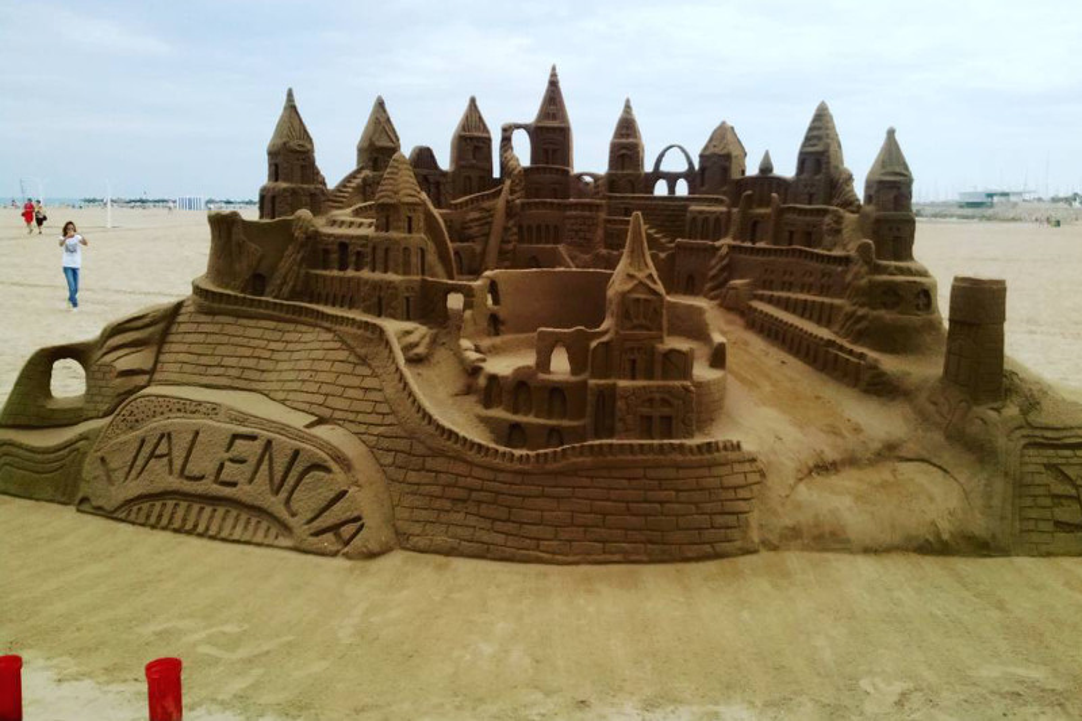 Sculture di sabbia, un'arte in spiaggia!