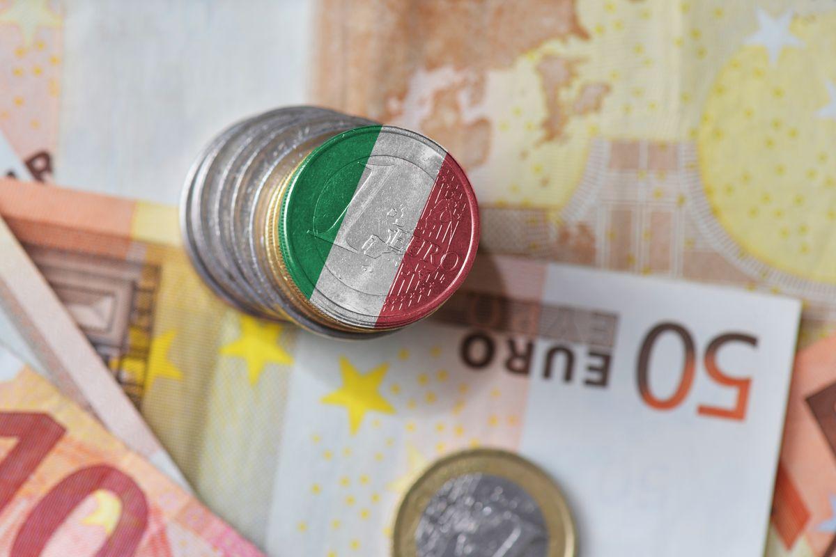 soldi euro monete italia