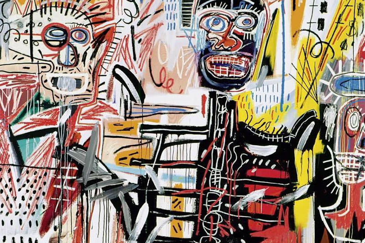 Jean-Michel Basquiat, artista protagonista degli anni '80 ed esponente del graffittismo americano