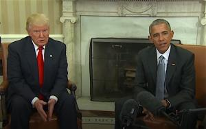 Donald Trump e Barack Obama