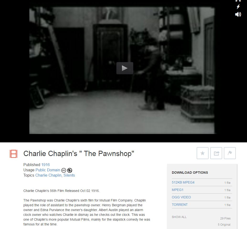 Film Streaming Internet Archive