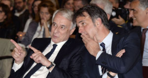 Giuliano Pisapia e Michele Uva