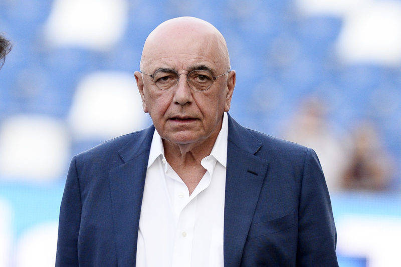 Adriano Galliani Milan Simeone