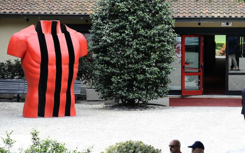 Raoul Bellanova Vincenzo Montella Conferenza stampa Montella Milan -Juventus