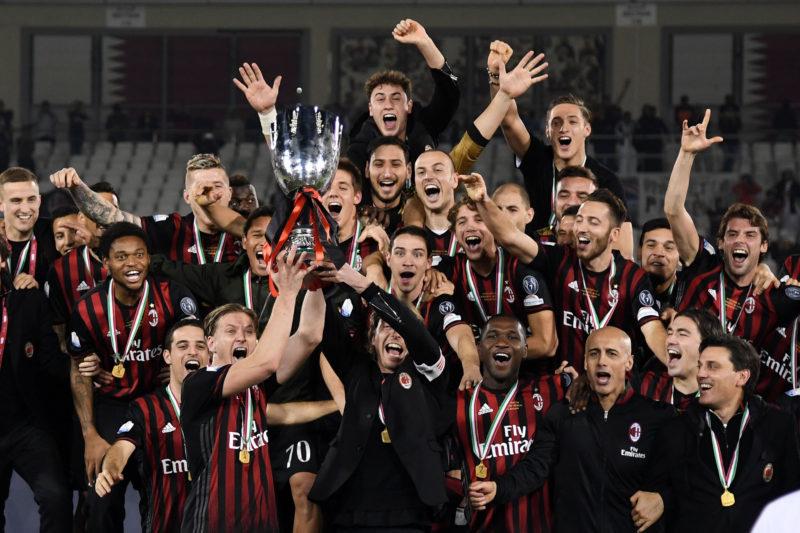 Milan Supercoppa calendario serie a 2017-2018