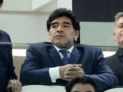 """Maradona: """"Italia fuori dal Mondiale, è davvero triste"""""""