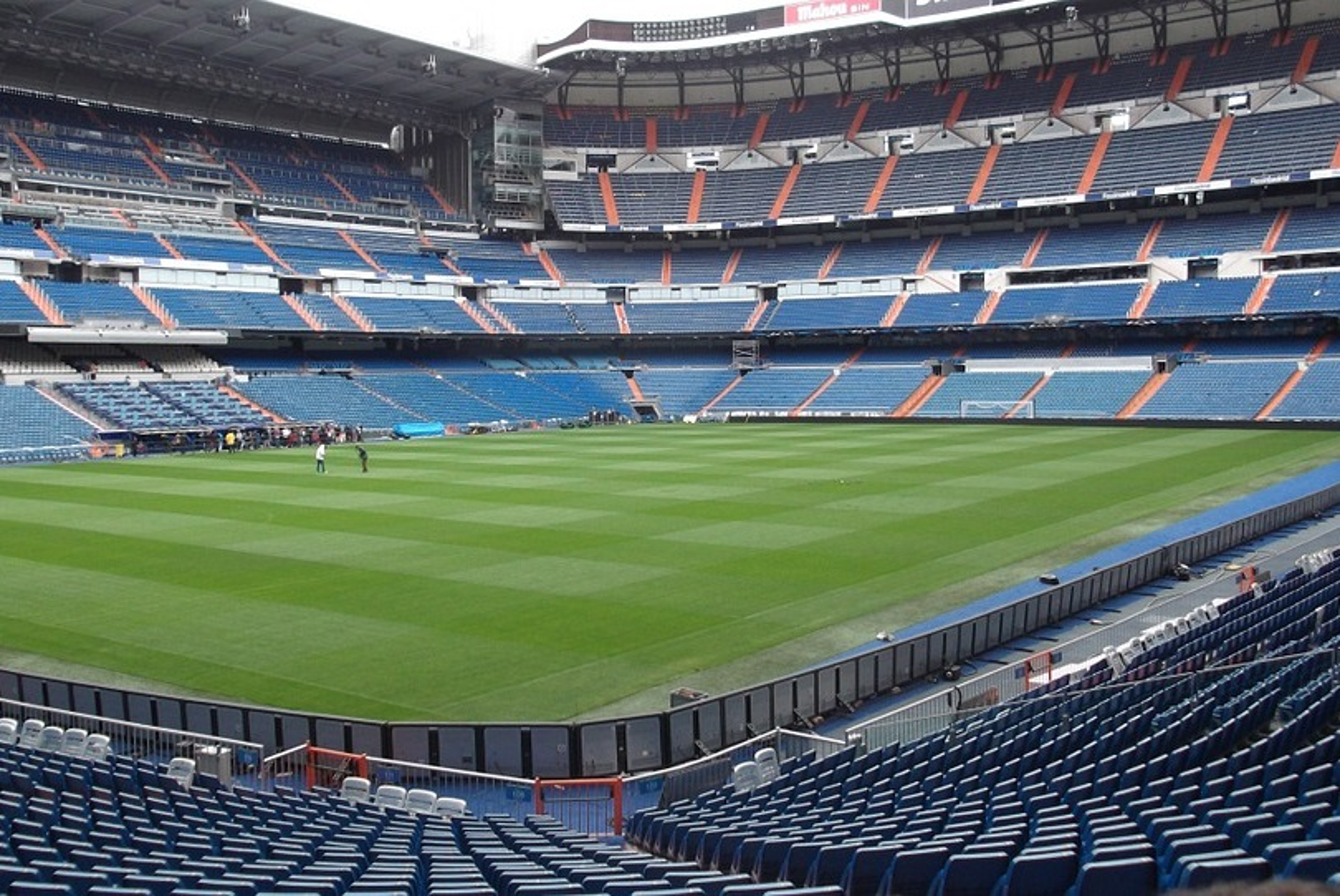 Real Madrid, Stadio Bernabeu Zidane Lopetegui
