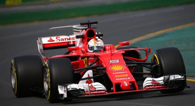 GP Baku, un giro in pista con la Ferrari!