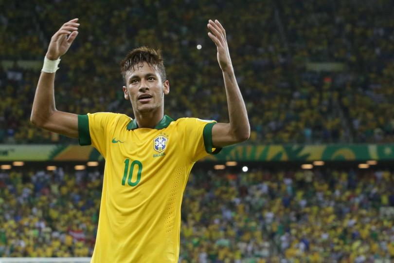 presentazione di neymar