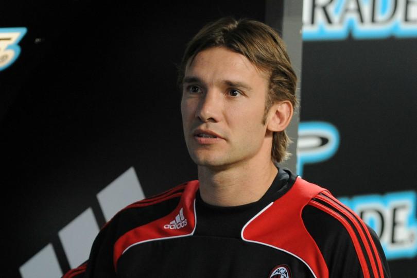 Andriy Shevchenko Milan-Inter