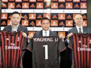 David Han Li-Yonghong Li-Marco Fassone James Pallotta Milan