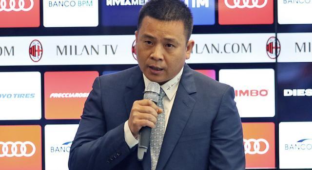 """Yonghong Li: """"Milan, mi auguro che i nostri giocatori giochino con un impegno senza pari"""""""