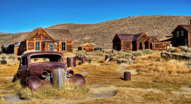 Bodie: la città fantasma del selvaggio West