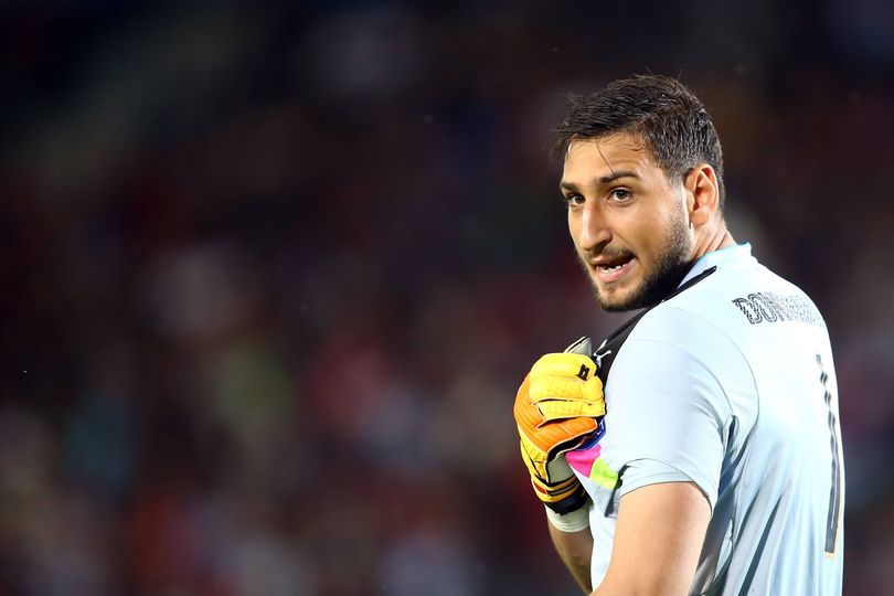 Gianluigi Donnarumma la Scala