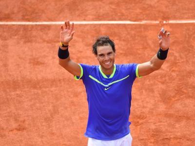 Tennis: agli Internazionali BNL d'Italia triofano Nadal e Svitolina