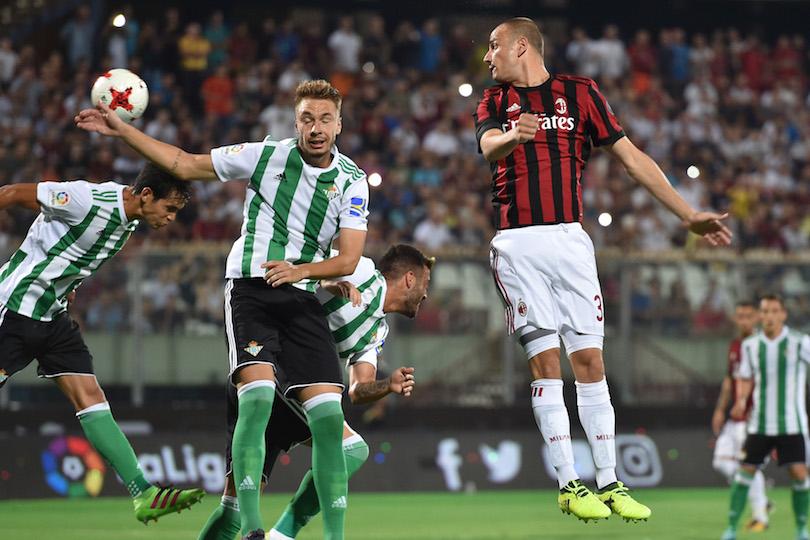 Luca Antonelli Davide Calabria Ricardo Rodríguez Europa League