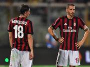 Lazio-Milan highlights Leonardo Bonucci - Riccardo Montolivo
