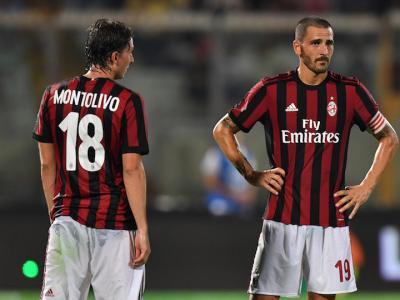 """Benevento-Milan, Bonucci: """"Peggio di così non può andare…"""""""