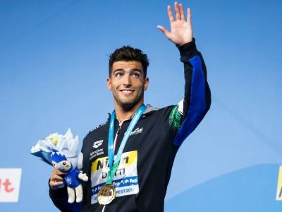 Nuoto, Mondiali vasca corta: bronzo per Gabriele Detti. Martina Carraro da record