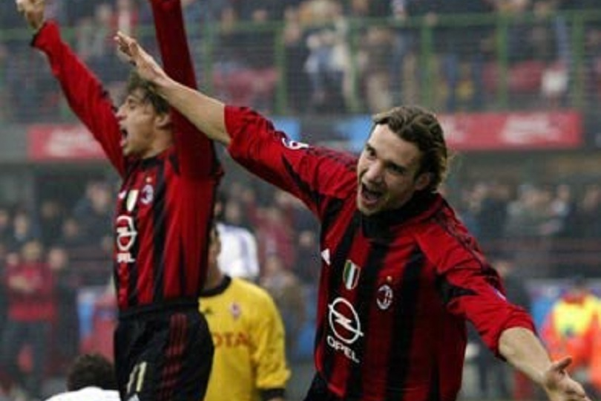 Shevchenko attaccanti Milan
