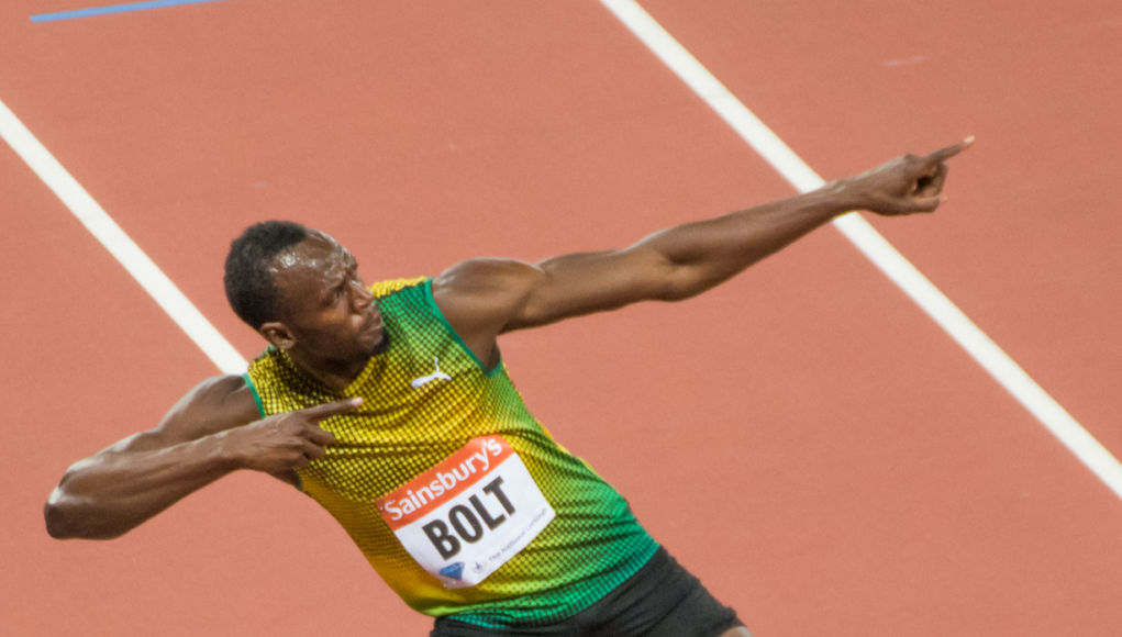 Usain Bolt infortunio