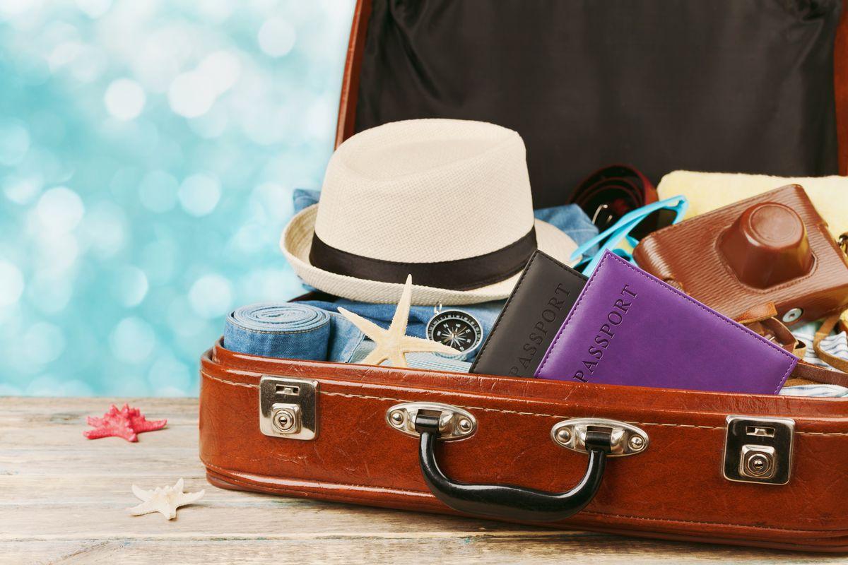 valigia vacanza mare