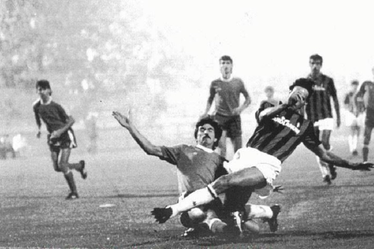 Van Basten contro il Vitocha Sofia