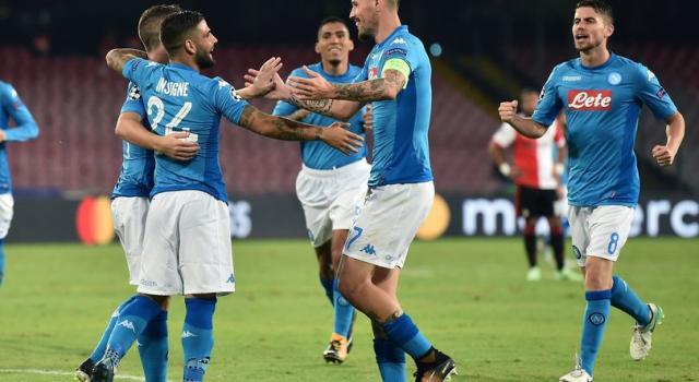 Serie A: il Napoli trova la decima, poker Samp, Fiorentina ko a Crotone