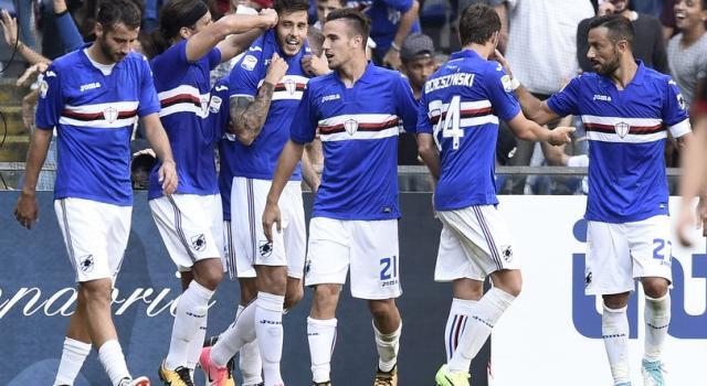 Serie A, Sampdoria-Crotone 5-0: dominio doriano a Marassi