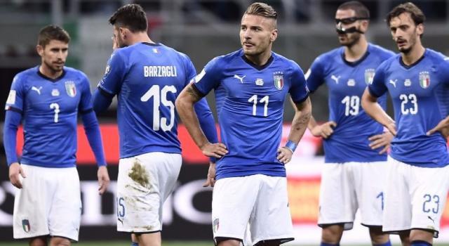È sempre Italia-Germania: Michael Ballack esulta per l'eliminazione degli azzurri
