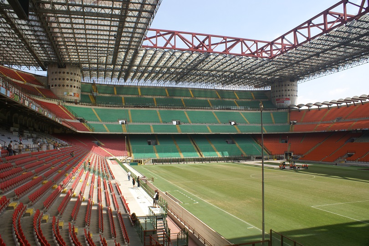 Milan stadio San Siro derby