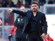 André Silva Milan-Crotone GENNARO GATTUSO ritiro Milan