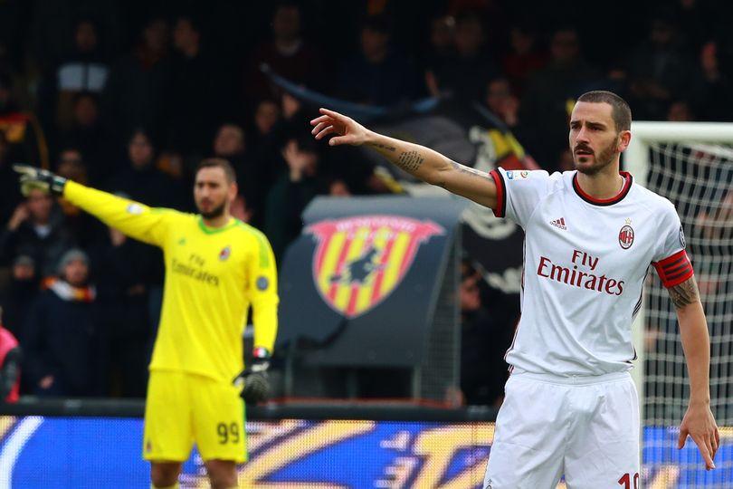 LEONARDO BONUCCI Milan calciomercato 2018 Serie A