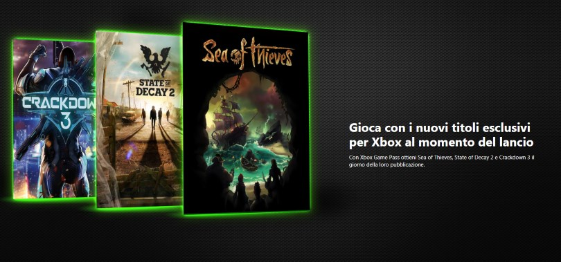 Xbox Game Pass Italiano