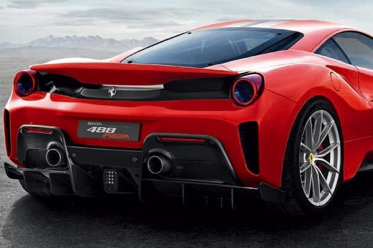 Nuova Ferrari 488