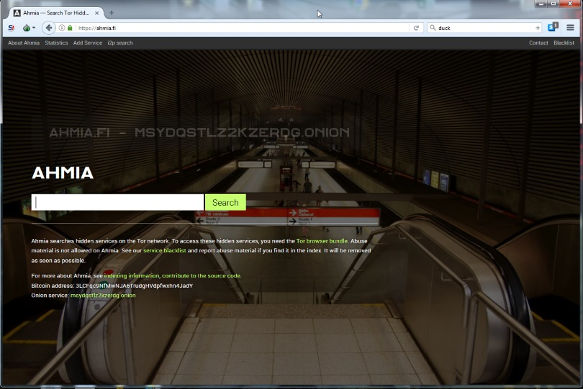 Deeb web motore di ricerca