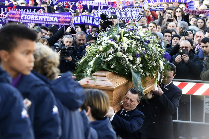 Funerali Davide Astori