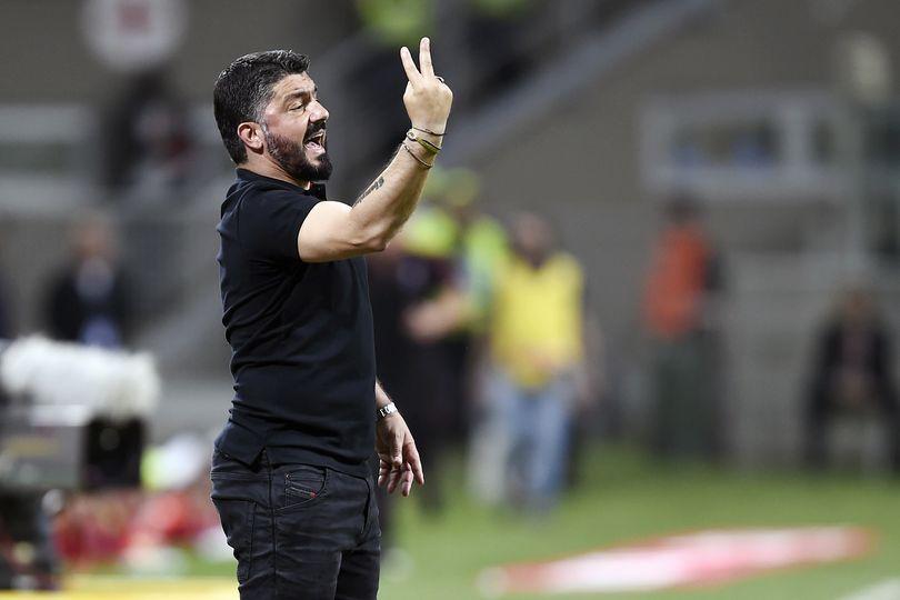 GENNARO GATTUSO Milan Cutrone Napoli-Milan Inter-Milan