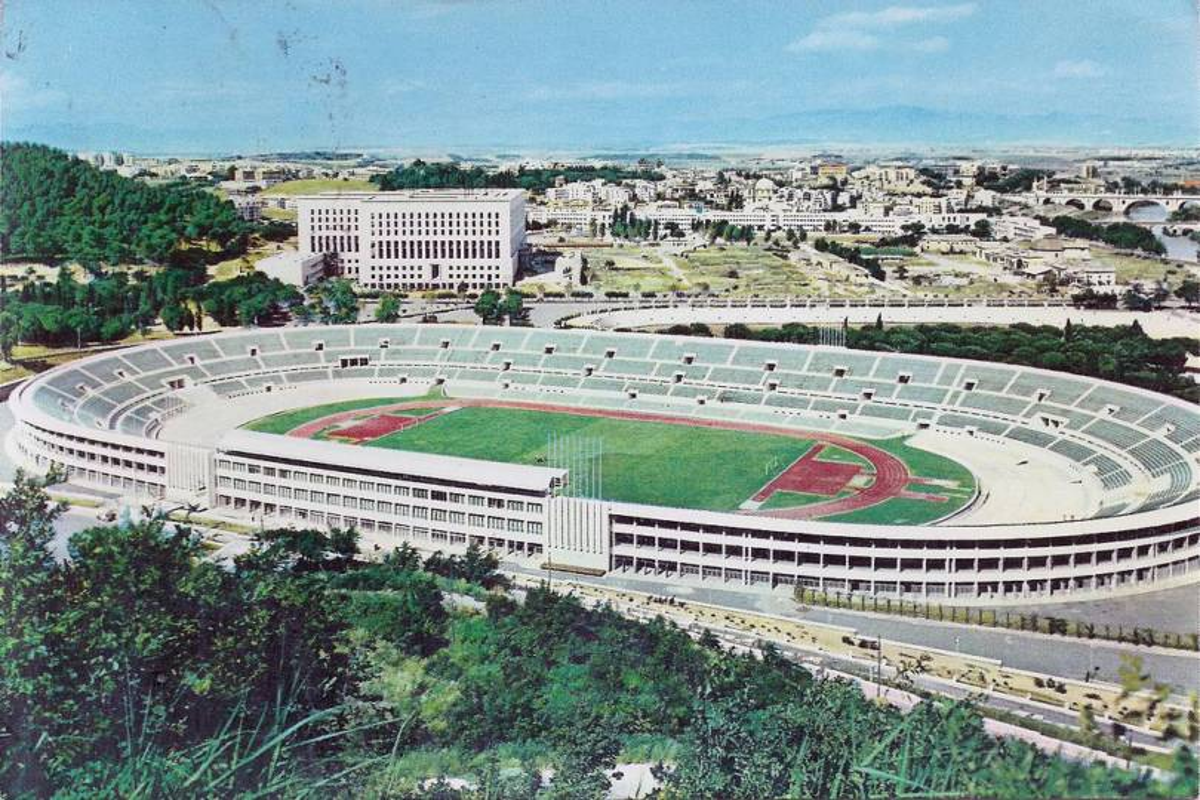Inaugurazione stadio Olimpico Roma